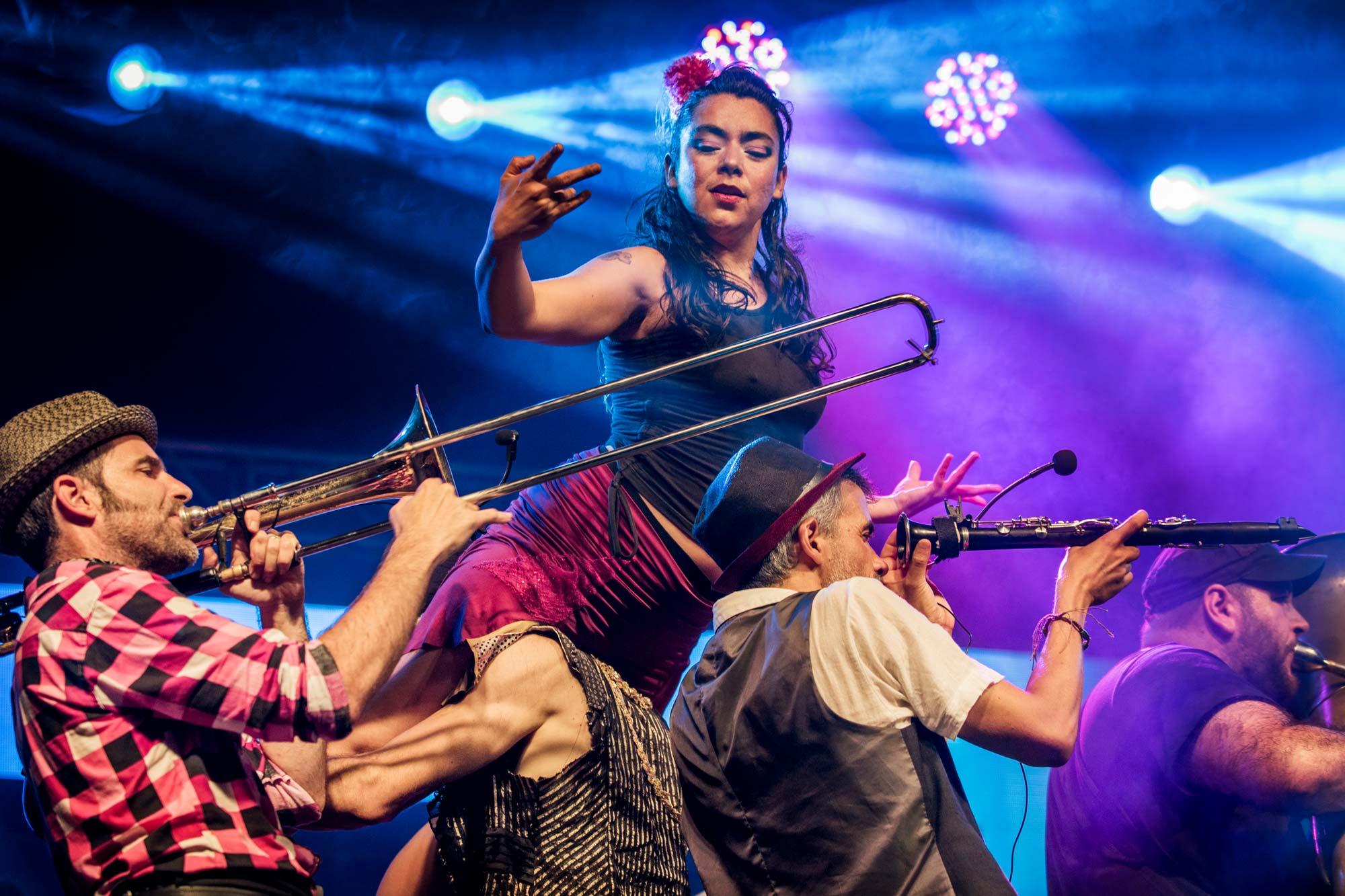 Girovago. Gypsy Kumbia Orchestra